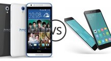 So sánh Xiaomi Redmi Note 2 và HTC Desire 620