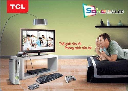 SOHO LED TV của TCL – dòng TV dành riêng cho giới trẻ