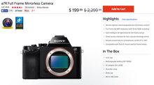 """Sony giảm giá """"sốc"""" máy ảnh A7R từ 50 triệu xuống còn 4 triệu"""