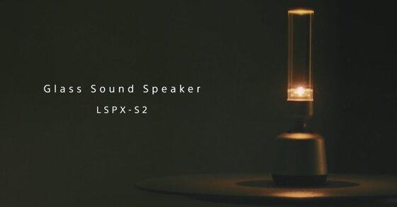 Sony Glass Sound Speaker LSPX-S2: Thiết kế quá độc chẳng ai nghĩ là loa bluetooth