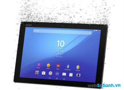 Sony trình diễn máy tính bảng Xperia Z4 Tablet siêu mỏng nhẹ tại MWC 2015