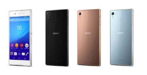 Sony trình làng Xperia Z4 màn hình 5,2 inch FHD ra mắt vào cuối mùa hè