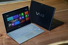 Sony Vaio Pro 13: Tinh tế với màn hình mỏng full HD