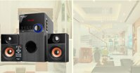 SoundMax A-2123: Thiết kế đỏm dáng phù hợp không gian sống hiện đại