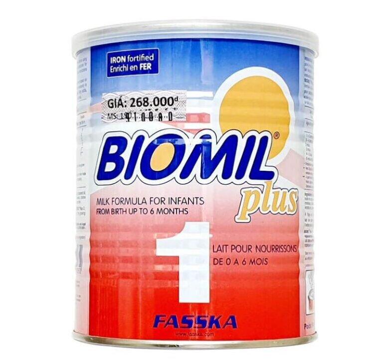 Sữa bột tăng cân Biomil
