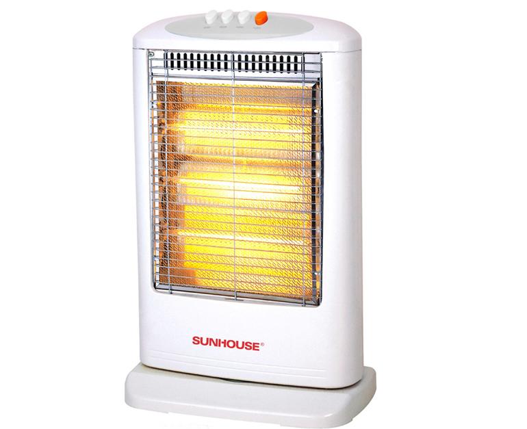 Sưởi đèn 3 bóng halogen Sunhouse SHD7019