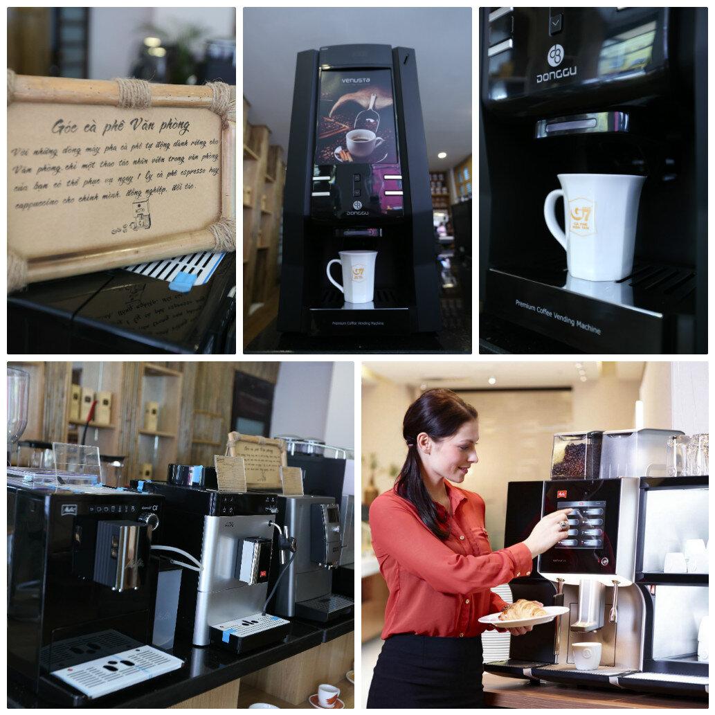 Trong các văn phòng lớn, những máy pha cà phê tự động sẽ là lựa chọn hoàn hảo nhất