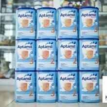 Cập nhật giá sữa Aptamil trong tháng 10/2017