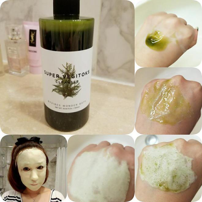 Sữa rửa mặt Super Vegitoks Cleanser vừa có tác dụng tẩy trang, rửa mặt, thải độc cho da