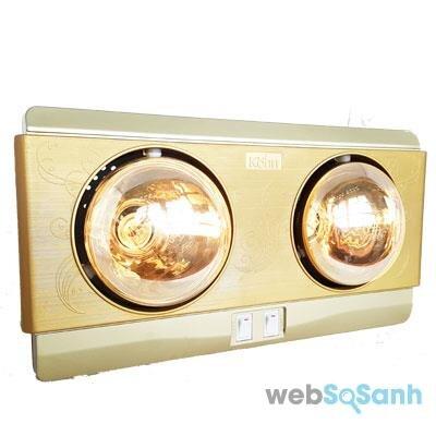 Sử dụng đèn sưởi nhà tắm như thế nào cho đúng ?