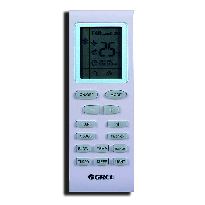 Sử dụng remote điều khiển điều hòa Gree 1 chiều như thế nào cho đúng?