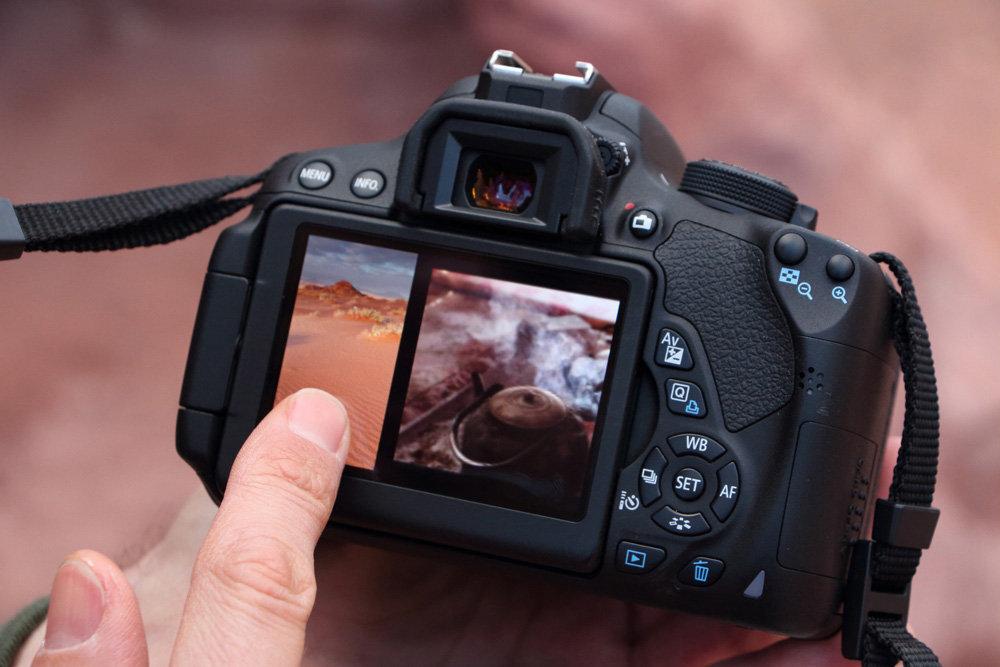 Sự khác biệt giữa Canon EOS 700D với Canon EOS 60D