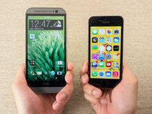 Sự tương đồng và khác biệt giữa HTC One M8 và iPhone 5S