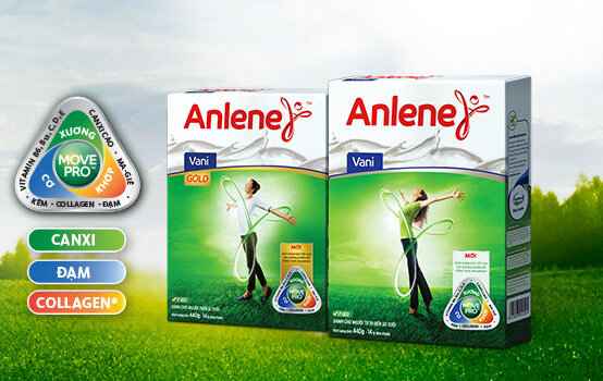 Sữa Anlene chính hãng giá bao nhiêu tiền ?