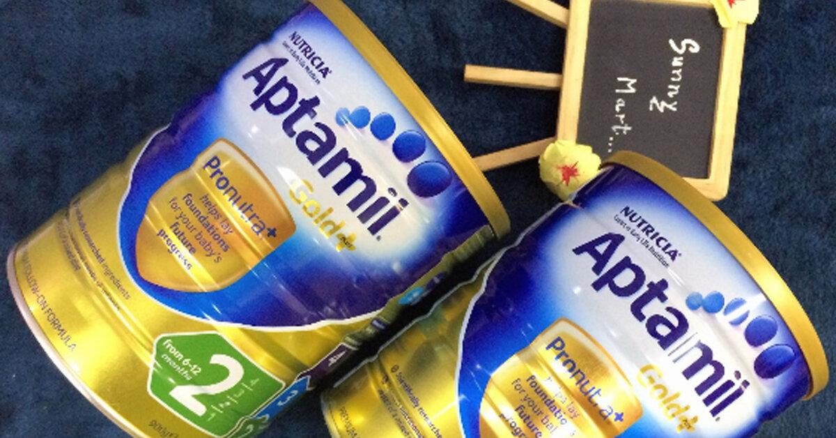 Sữa Aptamil Gold Úc có tốt không? Có những loài nào? Giá bao nhiêu?
