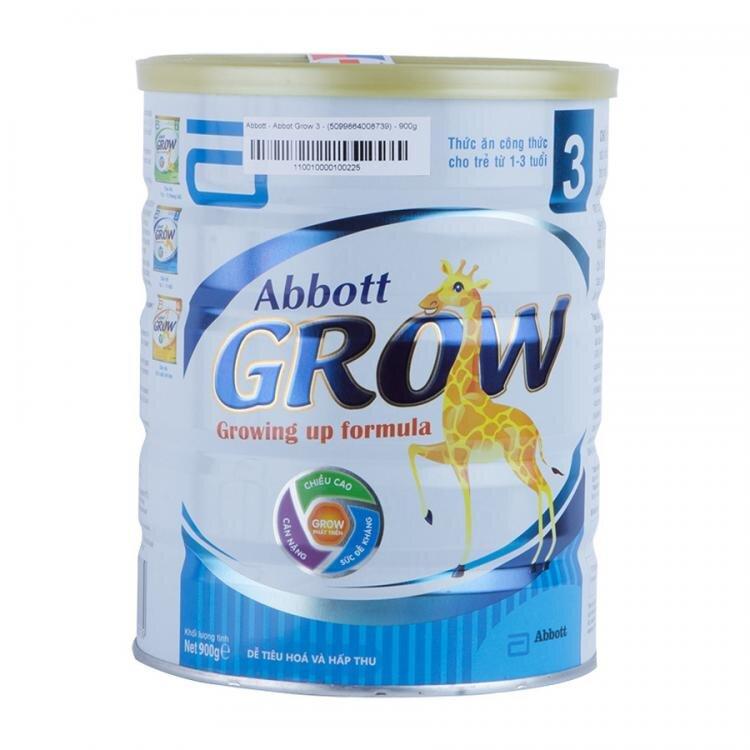 Sữa bột Abbott Grow 3 có tốt không, có tăng cân không?