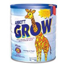 Sữa bột Abbott Grow giúp bé phát triển chiều cao hiệu quả
