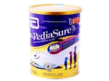 Sữa bột Abbott Pediasure B/A: Tăng cường hệ thống miễn dịch cho trẻ