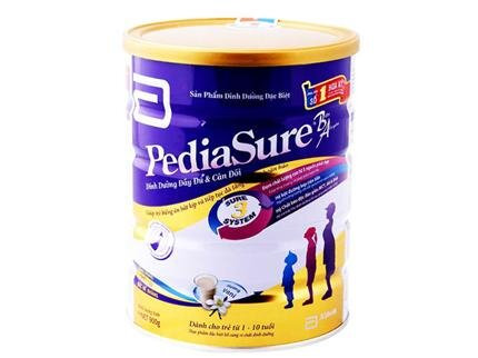 Sữa bột Abbott Pediasure B/A cho trẻ biếng ăn