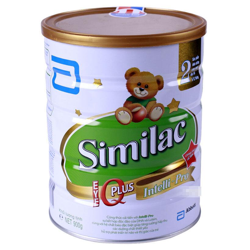 Sữa bột Abbott Similac Gain IQ 2 dinh dưỡng cho bé từ 6 đến 12 tháng tuổi