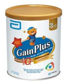 Sữa bột Abbott Similac Gain Plus IQ 3 dinh dưỡng cho bé từ 1 đến 3 tuổi