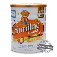 Sữa bột Abbott Similac Gain Kid IQ 4 dinh dưỡng cho bé trên 3 tuổi