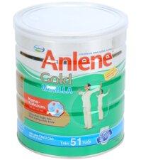 Sữa bột Anlene Vanilla Gold 800g – Trọn vẹn yêu thương