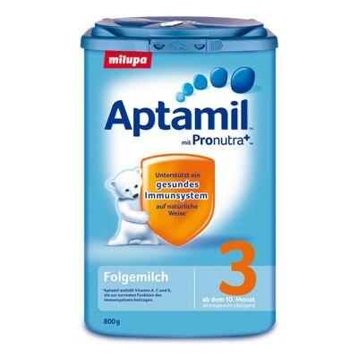 Sữa bột Aptamil 3 Đức dinh dưỡng cho bé trên 9 tháng tuổi
