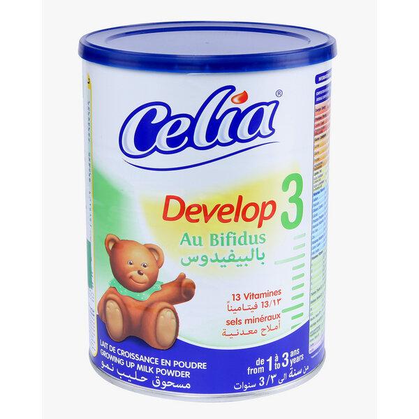 Sữa bột Celia Develop số 3 giúp bé từ 1 đến 3 tuổi phát triển toàn diện