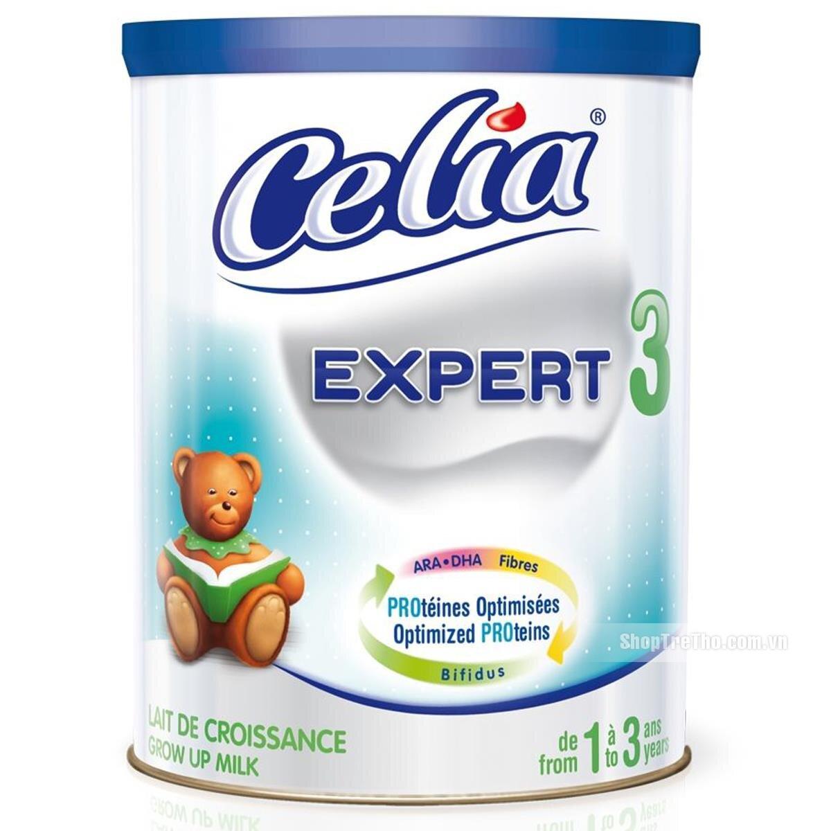 Sữa bột Celia Expert 3 dinh dưỡng cho bé từ 1 đến 3 tuổi