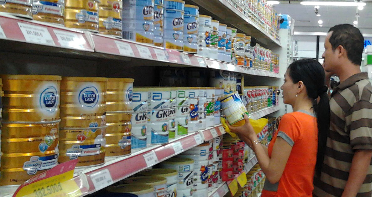 Sữa bột chính hãng mua online ở web nào tốt nhất?