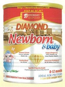 Sữa bột Diamond Newborn & Baby dinh dưỡng cho trẻ nhẹ cân, sinh non