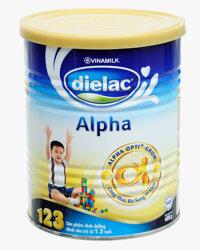 Sữa bột Dielac Alpha 123 giúp bé phát triển toàn diện