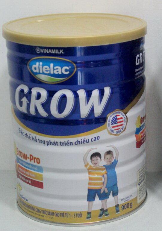 Sữa bột Dielac Grow 1+ giúp bé phát triển chiều cao vượt trội