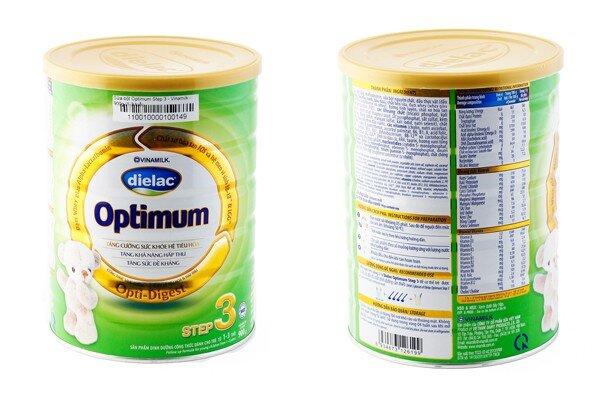 Sữa bột Dielac Optimum Step 3 có giúp bé tăng cân tốt không?