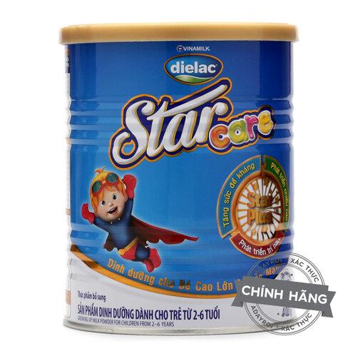 Sữa bột Dielac Star Care phát triển chiều cao cho bé trên 2 tuổi