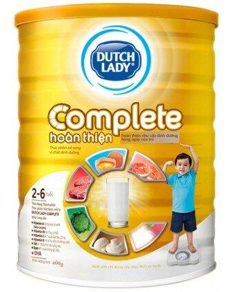 Sữa bột Dutch Lady Complete dành cho trẻ biếng ăn từ 2 đến 6 tuổi