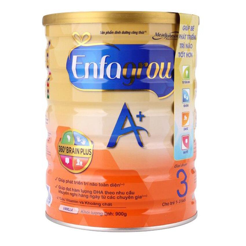 Sữa bột Enfagrow A+ 3 giúp bé tăng cân tốt
