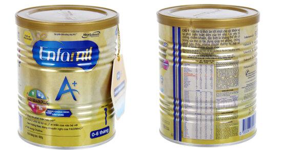 Sữa bột Enfamil A+ 1 có tốt không, có tăng cân không ?