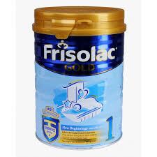 Sữa bột Frisolac Gold 1 tốt cho hệ tiêu hóa của trẻ sơ sinh