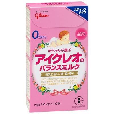 Sữa bột Glico dạng thanh có tốt không ?