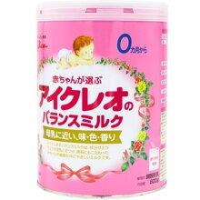 Sữa bột Glico Icreo số 0 dinh dưỡng cho bé từ 0 đến 9 tháng tuổi