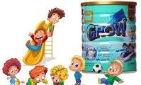 Sữa bột Grow Singapore – Cho bé 3-7 tuổi có chiều cao vượt trội
