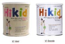 Sữa bột Hikid có giúp bé tăng cân và chiều cao tốt không?