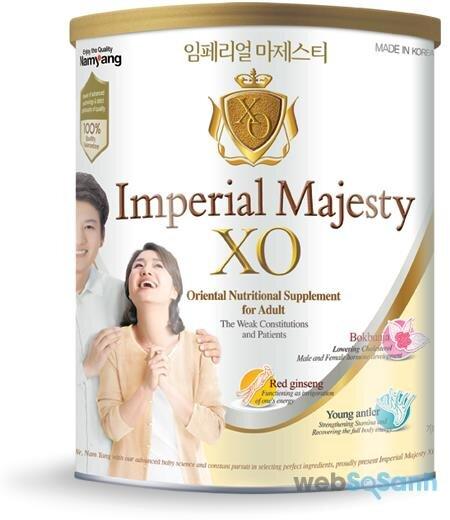 Sữa bột Majesty XO cho người lớn người suy nhược cơ thể