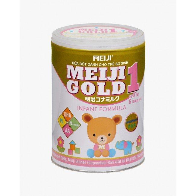 Sữa bột Meiji Gold 1 dinh dưỡng cho trẻ từ 0 đến 6 tháng tuổi