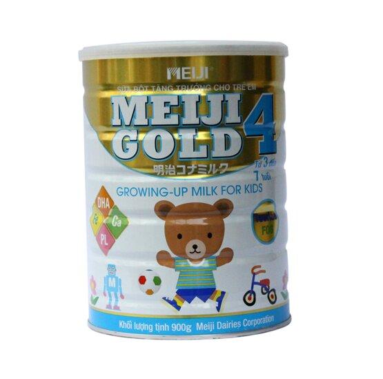 Sữa bột Meiji gold 4 giúp trẻ từ 3 đến 7 tuổi phát triển toàn diện