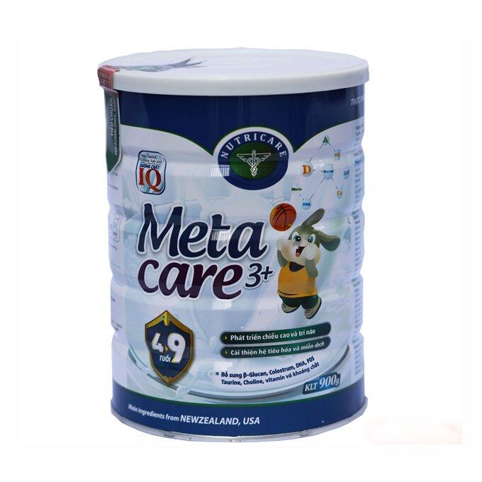Sữa bột Metacare của Viện Dinh Dưỡng có thực sự giúp bé tăng chiều cao?