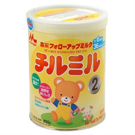 Sữa bột Morinaga Chilmil số 2 có tốt không ? Giá bao nhiêu ?
