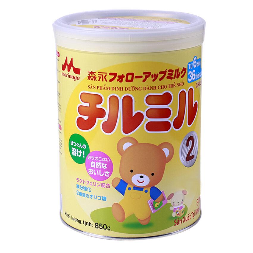 Sữa bột Morinaga Chilmil số 2 dinh dưỡng cho bé từ 6 đến 36 tháng tuổi